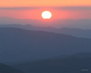 Max Patch Bald... great for viewing sunsets